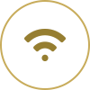 Complimentary Wifi access